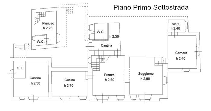 s517- Piano Primo Sottostrada