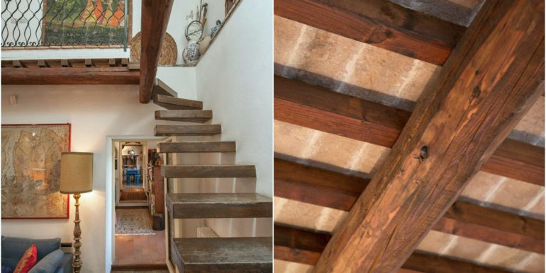 15-s495-stairs& italian wooden beams