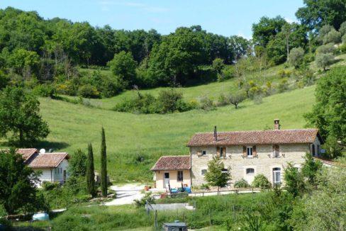 Farmhouse with restaurant in Gubbio