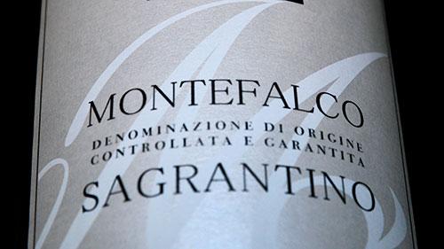 Vino Sagrantino di Montefalco