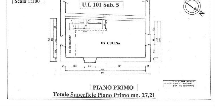 2-rustic first floor plan-Mulino di Smirra