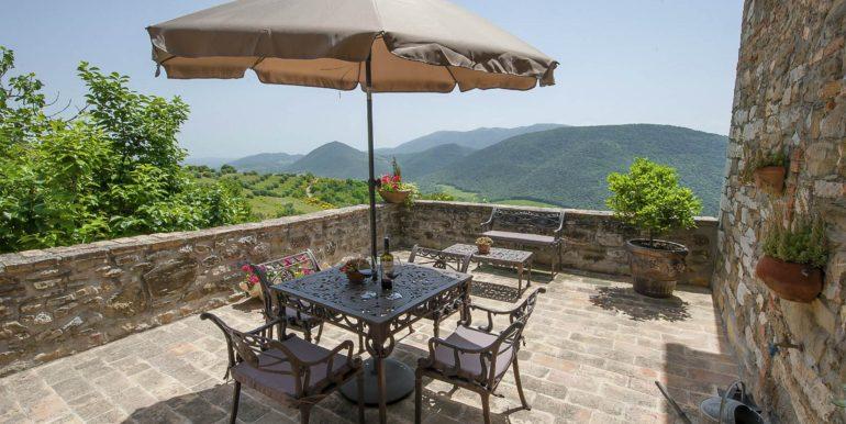 4-s574-terrace and beautiful hills-Prato di sopra