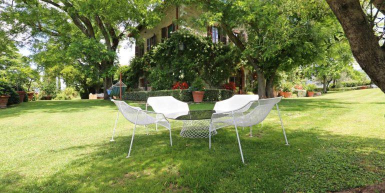 16-s573-garden and house-Il Giardino  del Porcinai