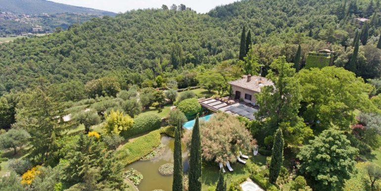 2-s573-villa and pool-il Giardino del Porcinai