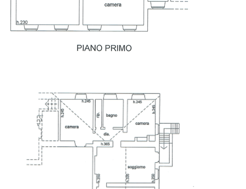 s574-first floor plan-Prato di sopra