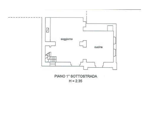 s574-bassement plan-Prato di sopra