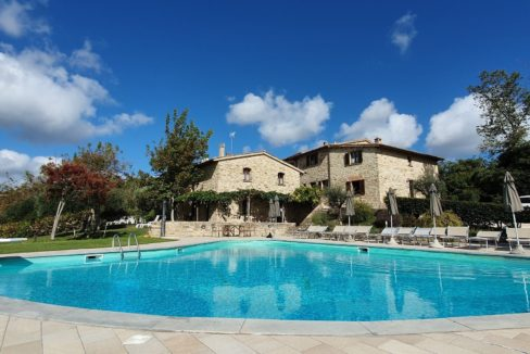 panoramic VILLAGE for sale in Umbria