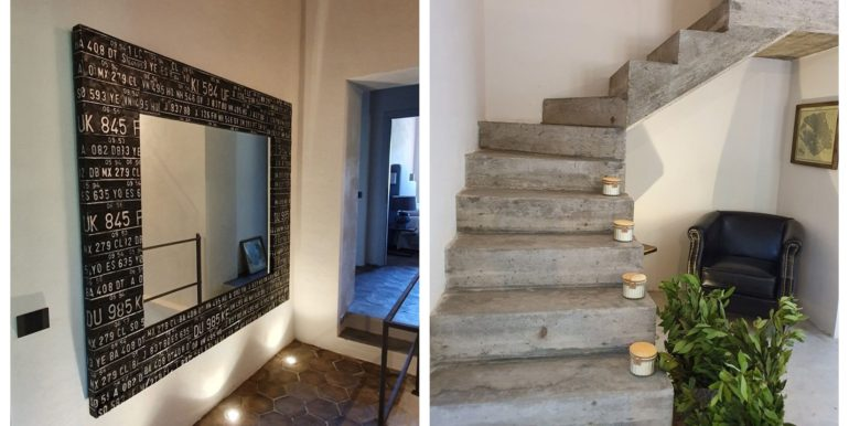 22-s57-mirror and stairs-PODERE IL FAENA