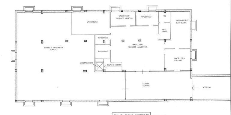 s577-bassement plan-agritursimo del castello
