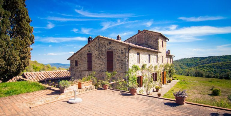 5-s594-. farmhouse for sale chianti - Casale La Madonna-via dei colli