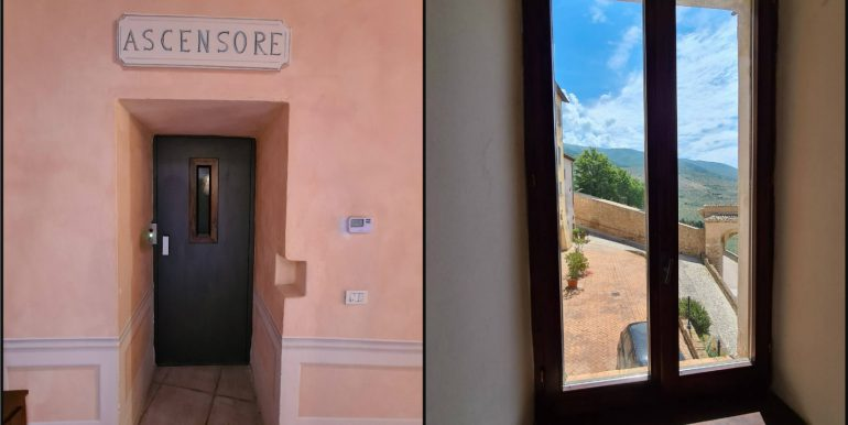 30-s599 - ancient hotel for sale in trevi - palazzo natalini - via dei colli