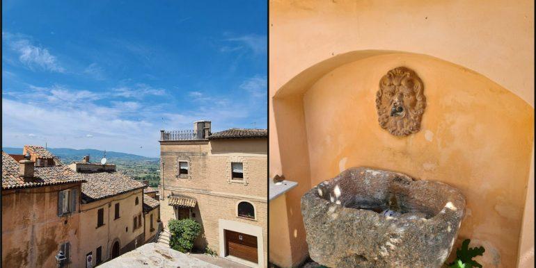 33-s599 - ancient hotel for sale in trevi - palazzo natalini - via dei colli