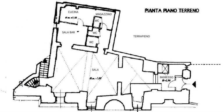 37-s599 - ancient hotel for sale in trevi - palazzo natalini - via dei colli