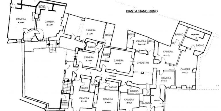 38-s599 - ancient hotel for sale in trevi - palazzo natalini - via dei colli