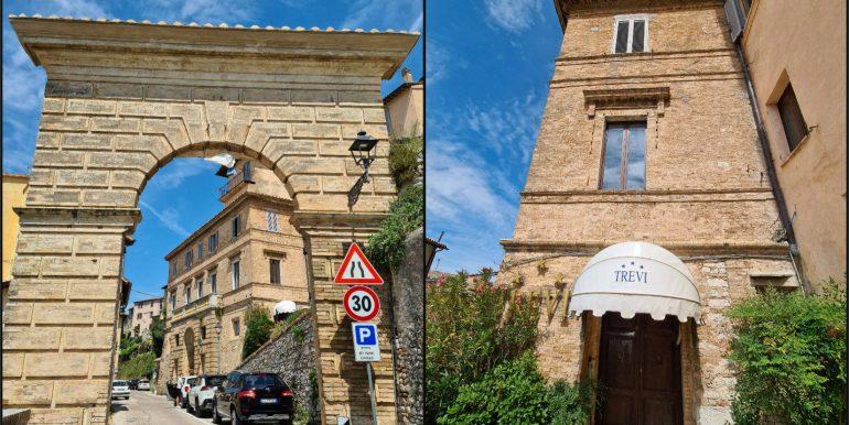 5-s599 - ancient hotel for sale in trevi - palazzo natalini - via dei colli